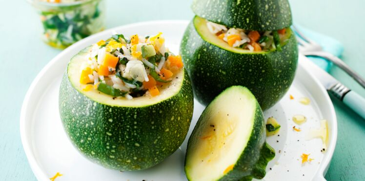 Cookeo : courgettes farcies