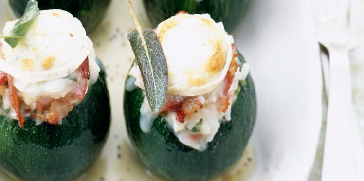 Cuites ou crues, nos meilleures recettes de courgettes farcies