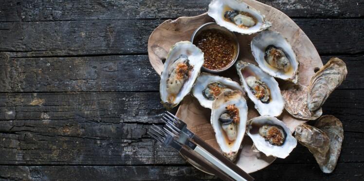 Les huîtres : toutes nos recettes en bouchées ou gratinées