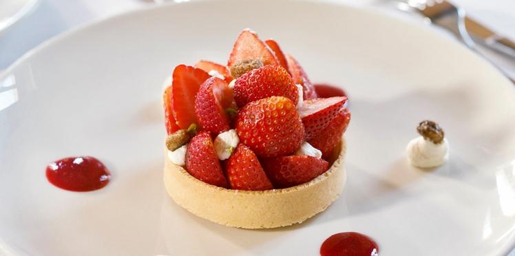 La recette de la tarte aux fraises