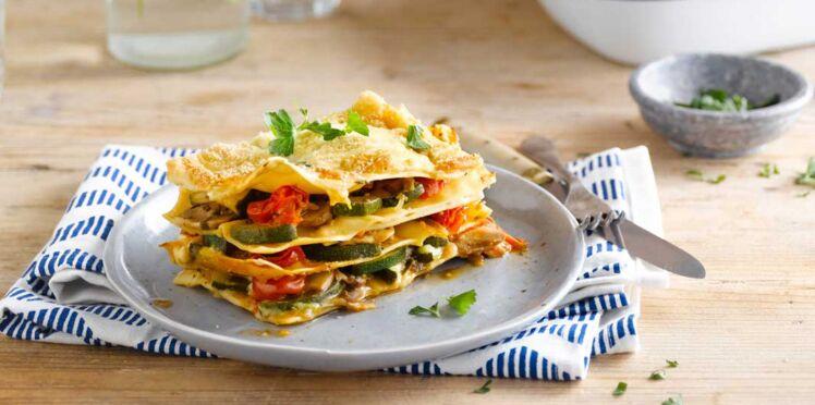 Lasagnes aux légumes : nos recettes faciles