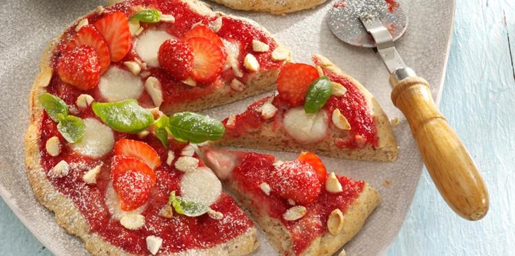 Nos meilleures recettes de pizzas sucrées