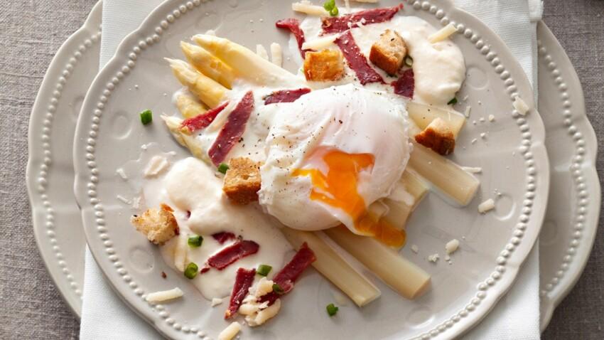 Nos meilleures recettes de printemps aux asperges blanches