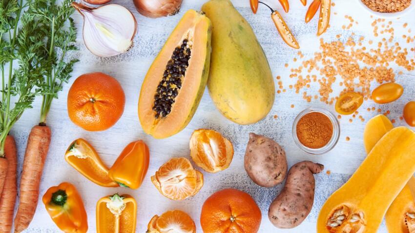 Melon, carotte… Les stars oranges de nos recettes d'été