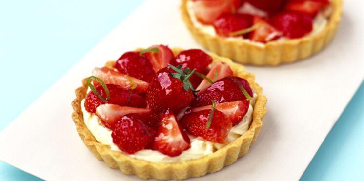 Nos meilleures recettes aux fraises