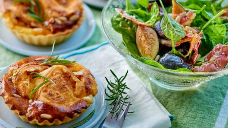 Tartes et salades : nos meilleures recettes pour un repas facile et complet