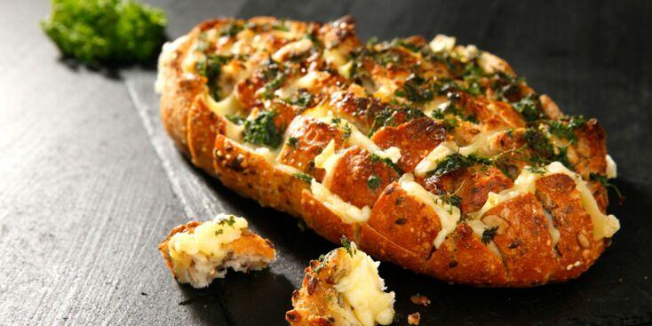 Le pain gourmand au fromage en vidéo