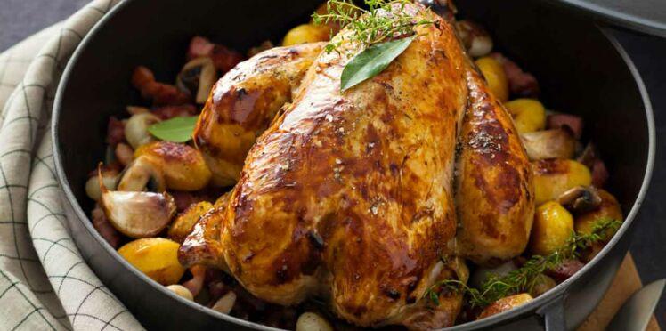 Recettes de poulet au four : nos 10 idées faciles et gourmandes