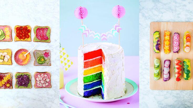 Rainbow food : un arc-en-ciel de recettes vitaminées