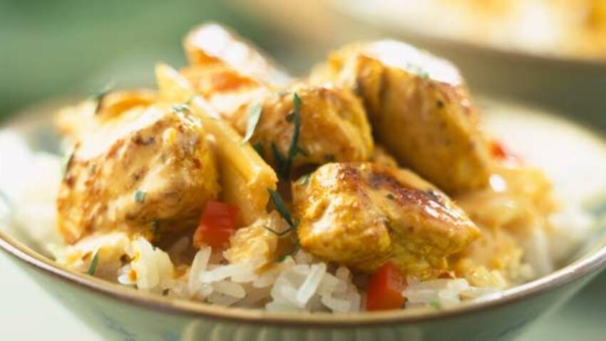 Nos recettes au curry