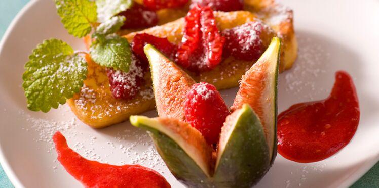 20 desserts aux figues fraîches