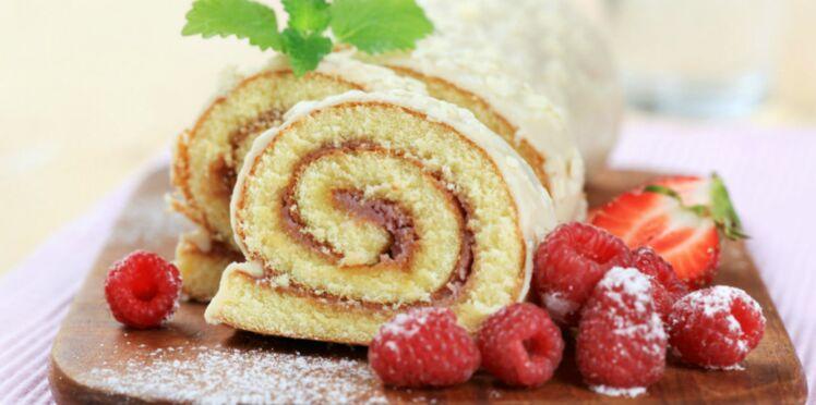 Nos recettes de gâteau roulé dont on raffole