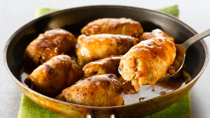 La recette des paupiettes de veau à la moutarde en vidéo