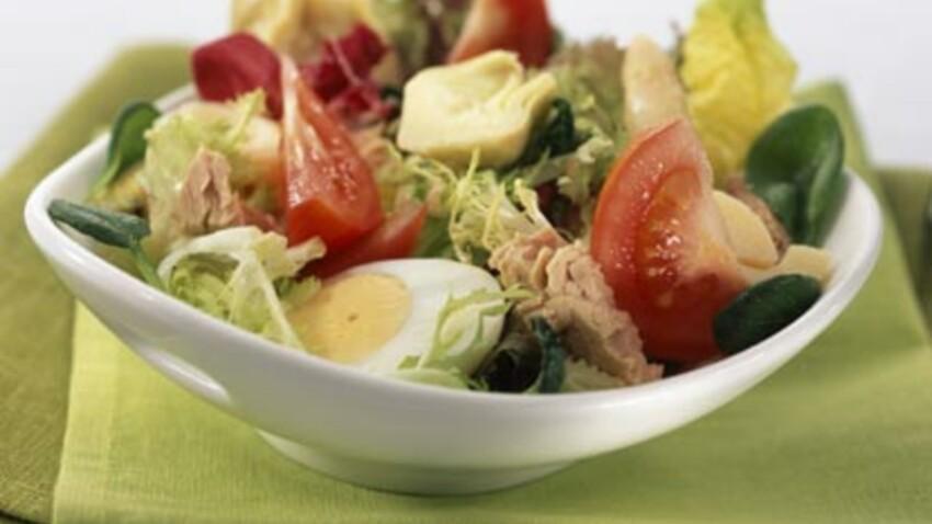Recettes de salades composées pour un repas fraîcheur