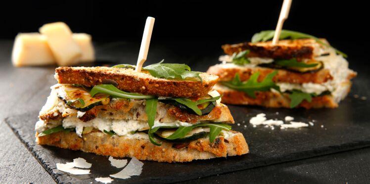 La recette du sandwich à la courgette en vidéo
