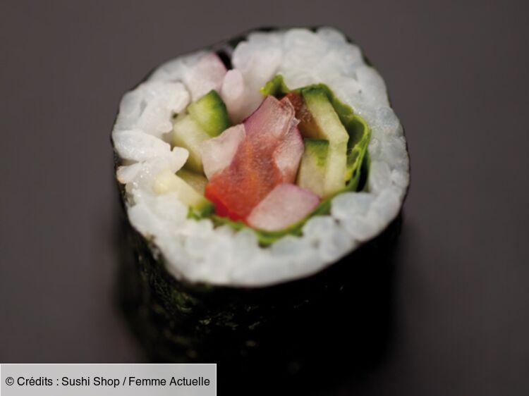 Nos Recettes De Sushi Maki Et California Femme Actuelle