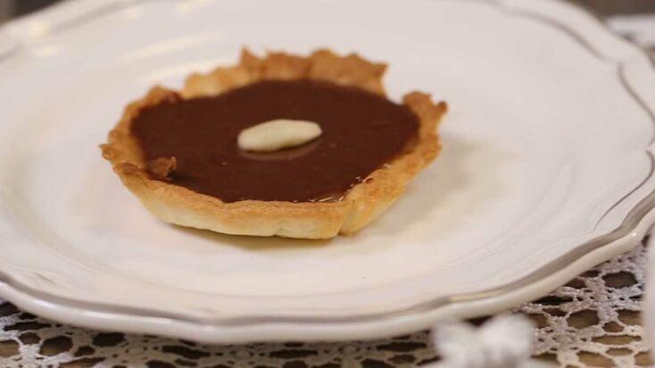 La recette de la tarte au chocolat caramel - Le goûter de Faustine