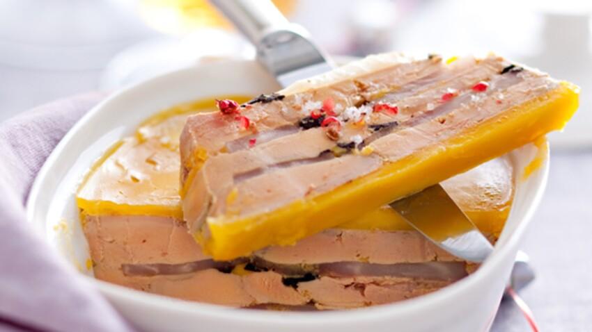 Repas de Noël : nos recettes au foie gras