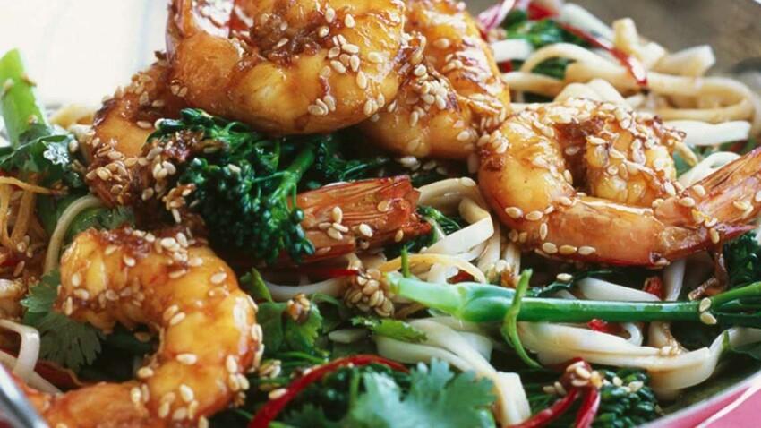 Nos recettes super croquantes à préparer au wok