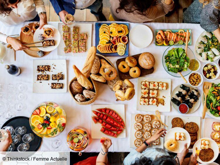 Idée Recette Buffet Froid Buffet froid : nos recettes d'été faciles et parfaites : Femme