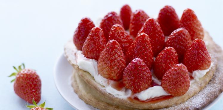 Nos meilleures recettes de desserts à la fraise