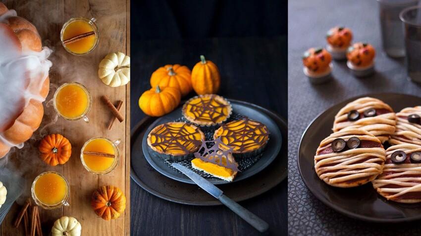 Nos recettes diablement gourmandes pour le repas d'Halloween