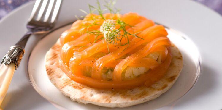 120 recettes de Noël au saumon