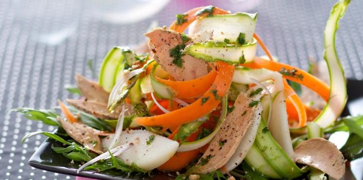 Nos recettes de salades entre terre et mer