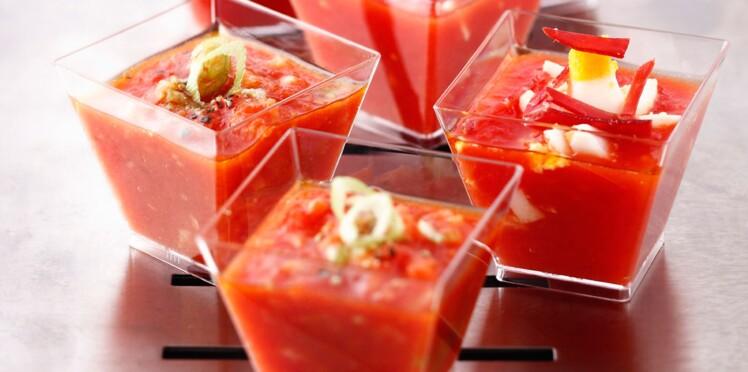 Nos recettes de soupes froides pour l'été