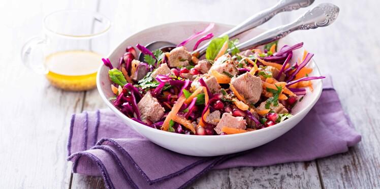 salade d automne nos recettes vitamin es aux produits de. Black Bedroom Furniture Sets. Home Design Ideas