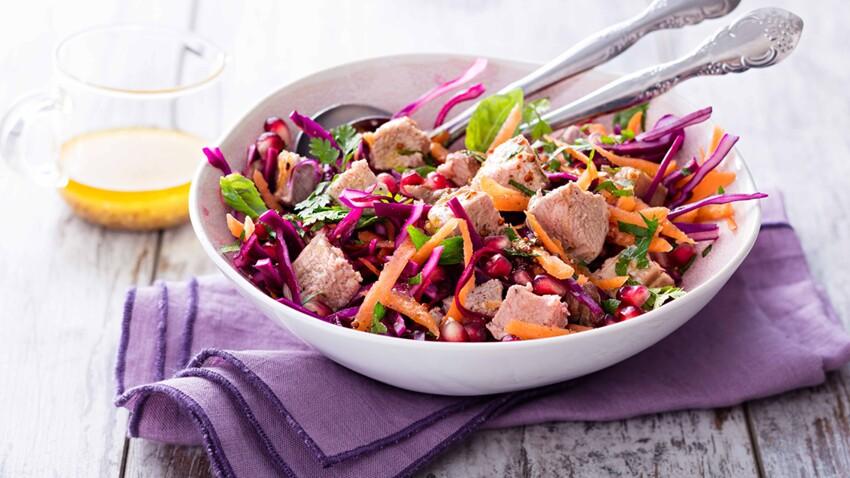 Salade d'automne : nos recettes vitaminées aux produits de saison