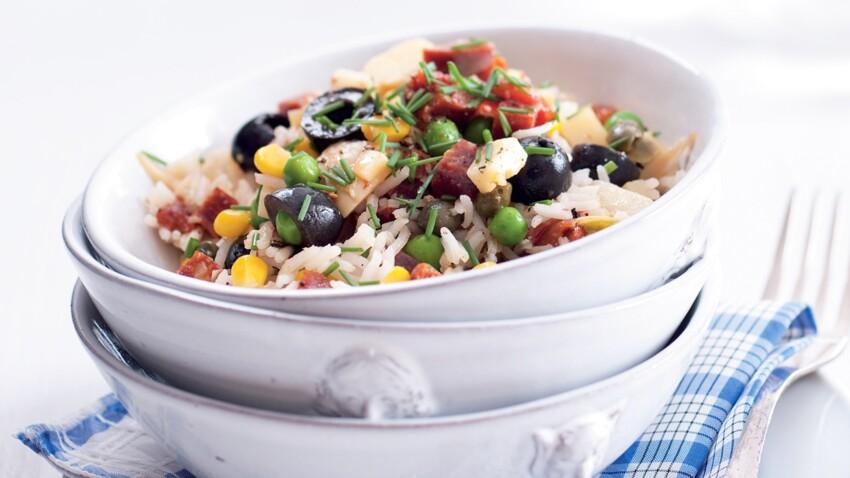 Salade de riz : nos recettes faciles et rapides pour l'été