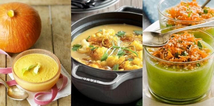 Soupe de légumes : nos recettes simples et gourmandes