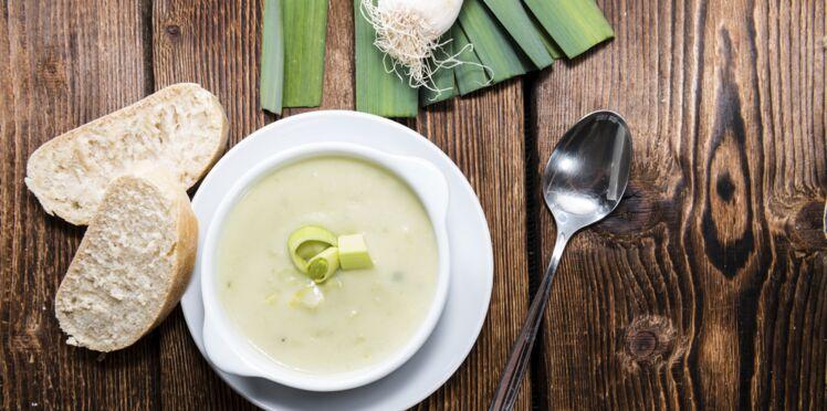 La recette de la soupe poireaux Kiri (vidéo)