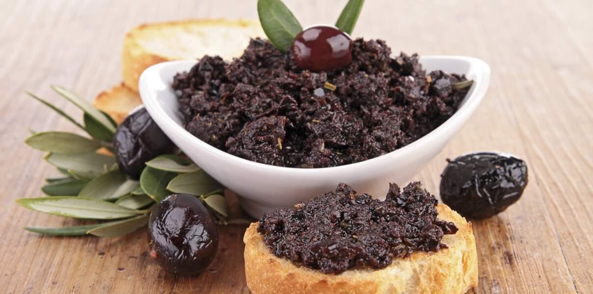 Tapenade olive et tomate séchée (vidéo)