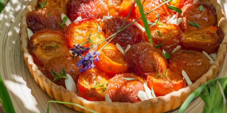 Tarte aux abricot facile à la crème d'amandes