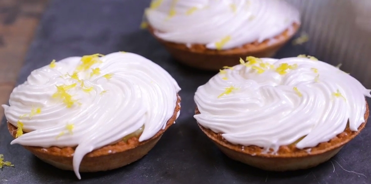 Tartelette au citron meringuée : la recette inratable en vidéo