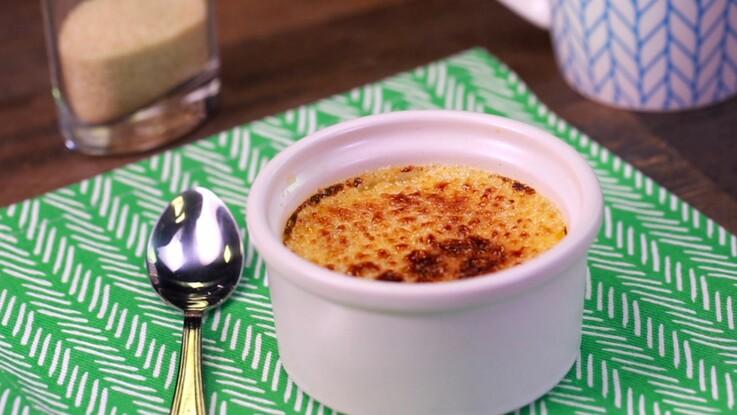 La recette de la crème brûlée