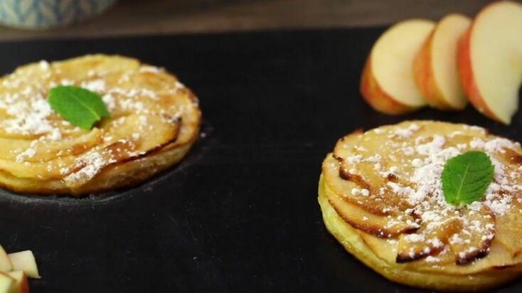 La recette de la tarte fine aux pommes