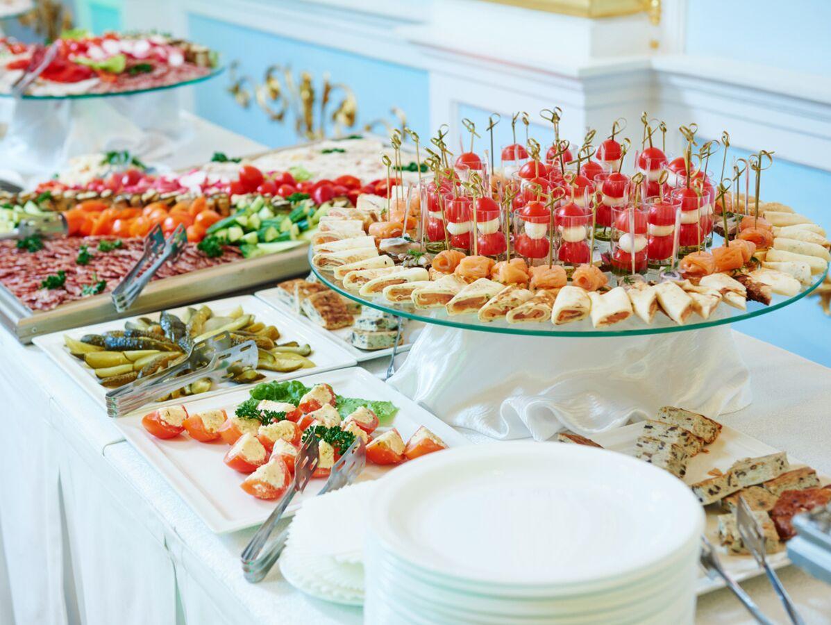 vin honneur maison buffet
