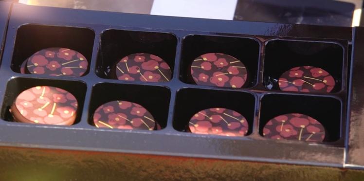 Un coquelicot c'est beau mais dans un chocolat c'est bon