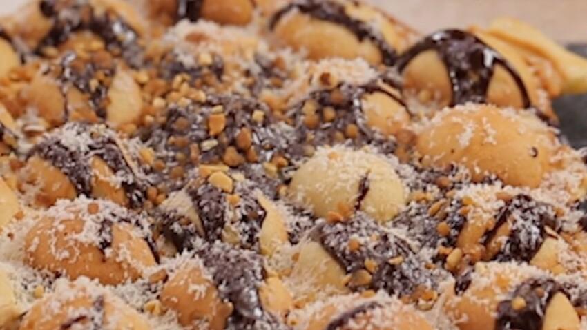 Des recettes à croquer : les bubbles Waffles au chocolat