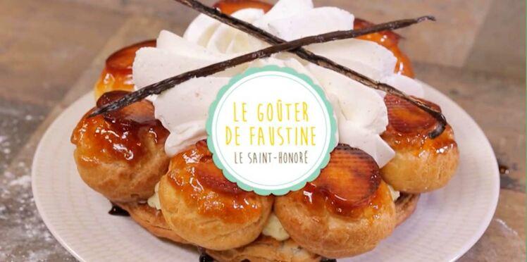 La recette du Saint-Honoré en vidéo - Le Goûter de Faustine