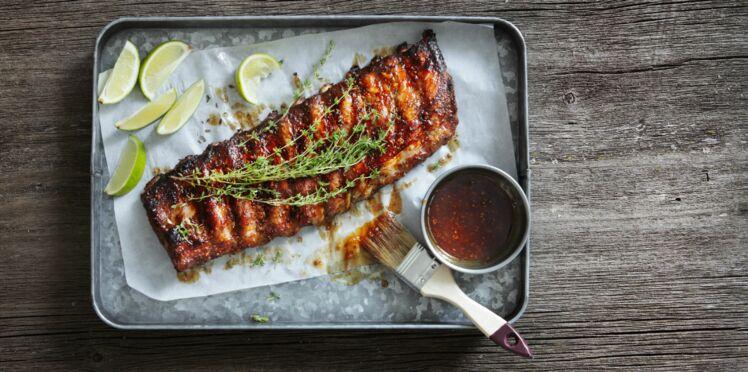 Marinade asiatique pour une viande au barbecue