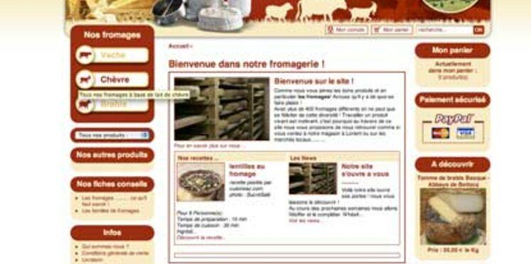 Achetez votre fromage en ligne