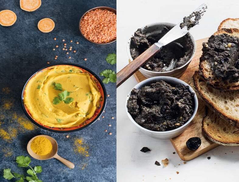 À la betterave, aux petits pois, au cacao… Nos recettes de houmous originales