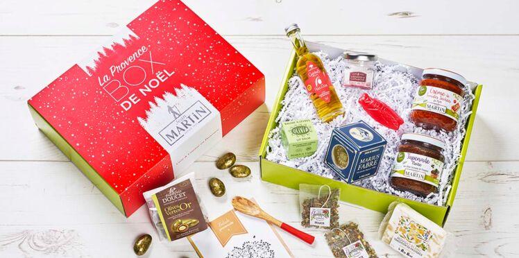 Boxes et coffrets cadeaux gourmands pour Noël