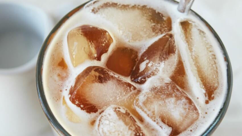 La recette du café frappé instantané à l'eau filtrée