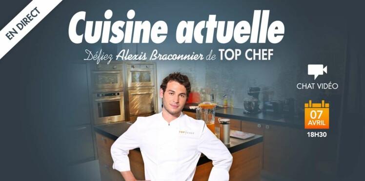Posez vos questions à Alexis de Top Chef !