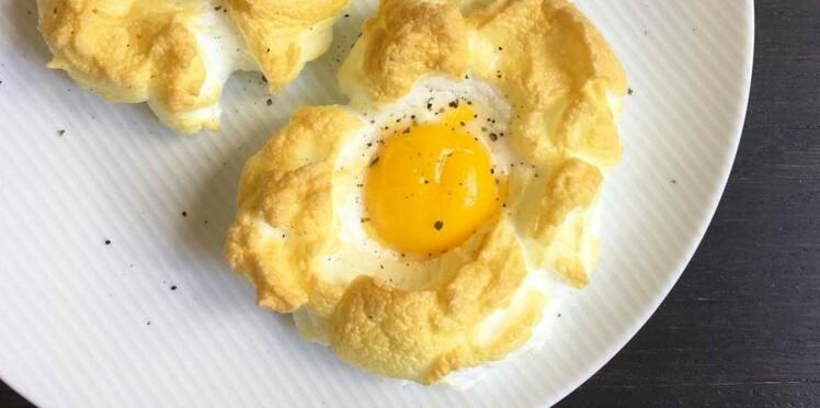 Le cloud egg, la nouvelle recette d'oeuf tendance pour le brunch